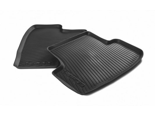 Rubber Mats (Rear) - Karoq