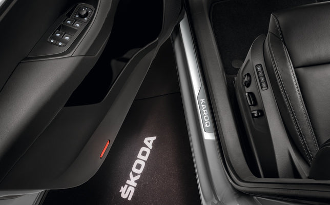 ŠKODA Door Sill Covers (Karoq)