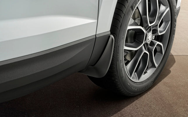 Front Mudflaps - Karoq (WITHOUT plastic wheel arches extensions)