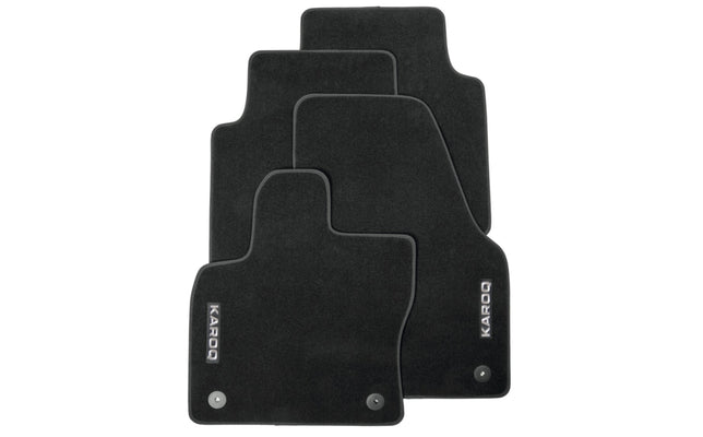 Floor Mat Set - (Carpet) Karoq (2018>Present)