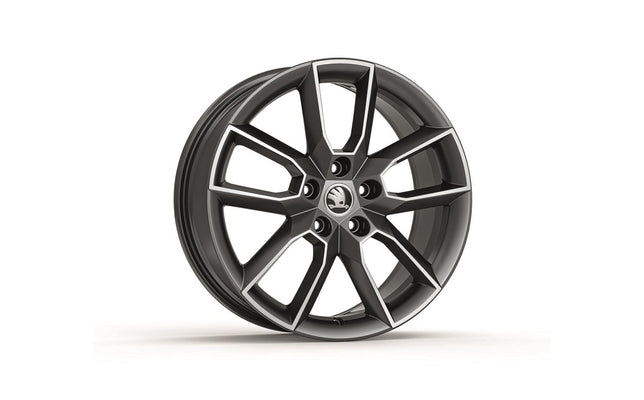 "ŠKODA Alloy wheel - GEMINI 18"" for Octavia III (Anthracite)"