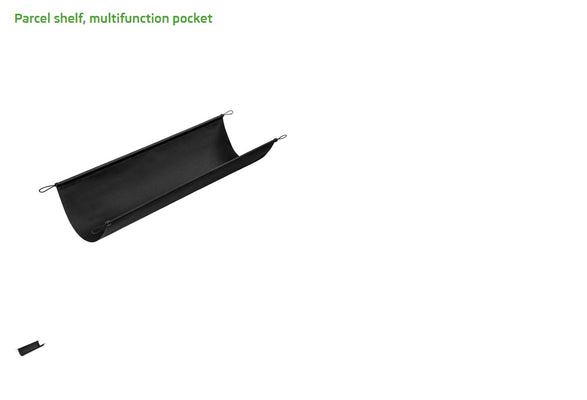 Parcel Shelf, Multi-function Pocket - Octavia (4)