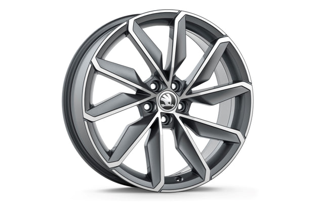 "ŠKODA Alloy Wheel  BLADE 18"" (Scala)"