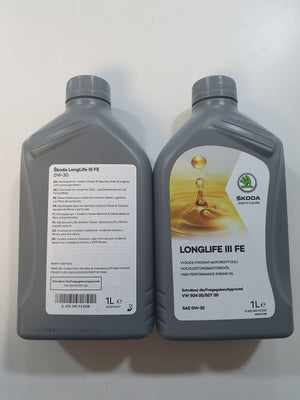 Genuine VW Group Oil - 1L 0W-30