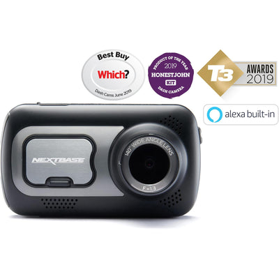 Nextbase 422GW Dash Cam & Go Pack inc. 32GB micro SD card