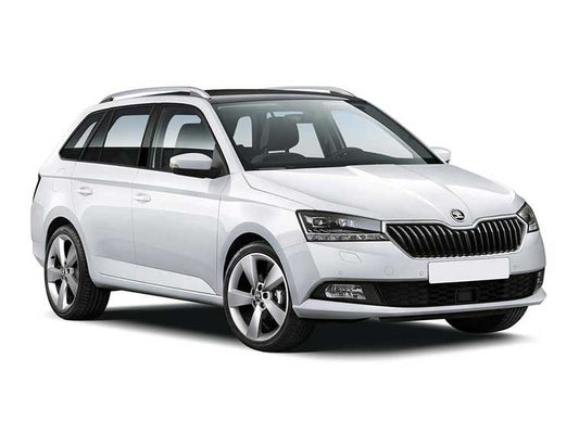 ŠKODA Front Grille SKODA Fabia III - Black magic (Facelift)