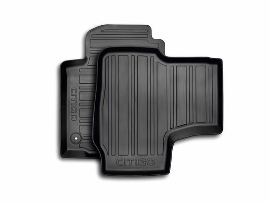 ŠKODA Floor Mats CitiGo 3 Door (Rubber)