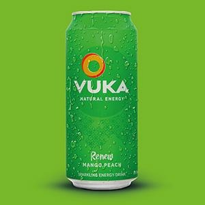 VUKA RENEW: SPARKLING MANGO PEACH. CASE OF 12. - Vuka Brands