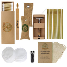 Load image into Gallery viewer, bumper bamboo gift set for a plastic-free present