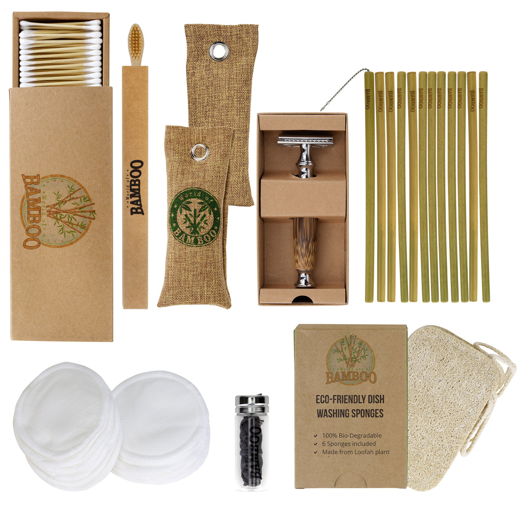 bumper bamboo gift set for a plastic-free present
