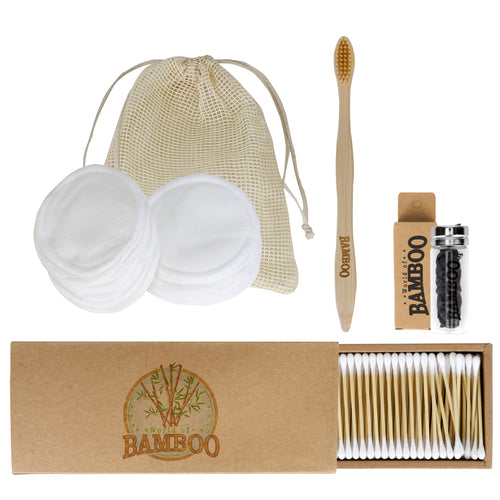 eco-friendly bathroom essentials kit
