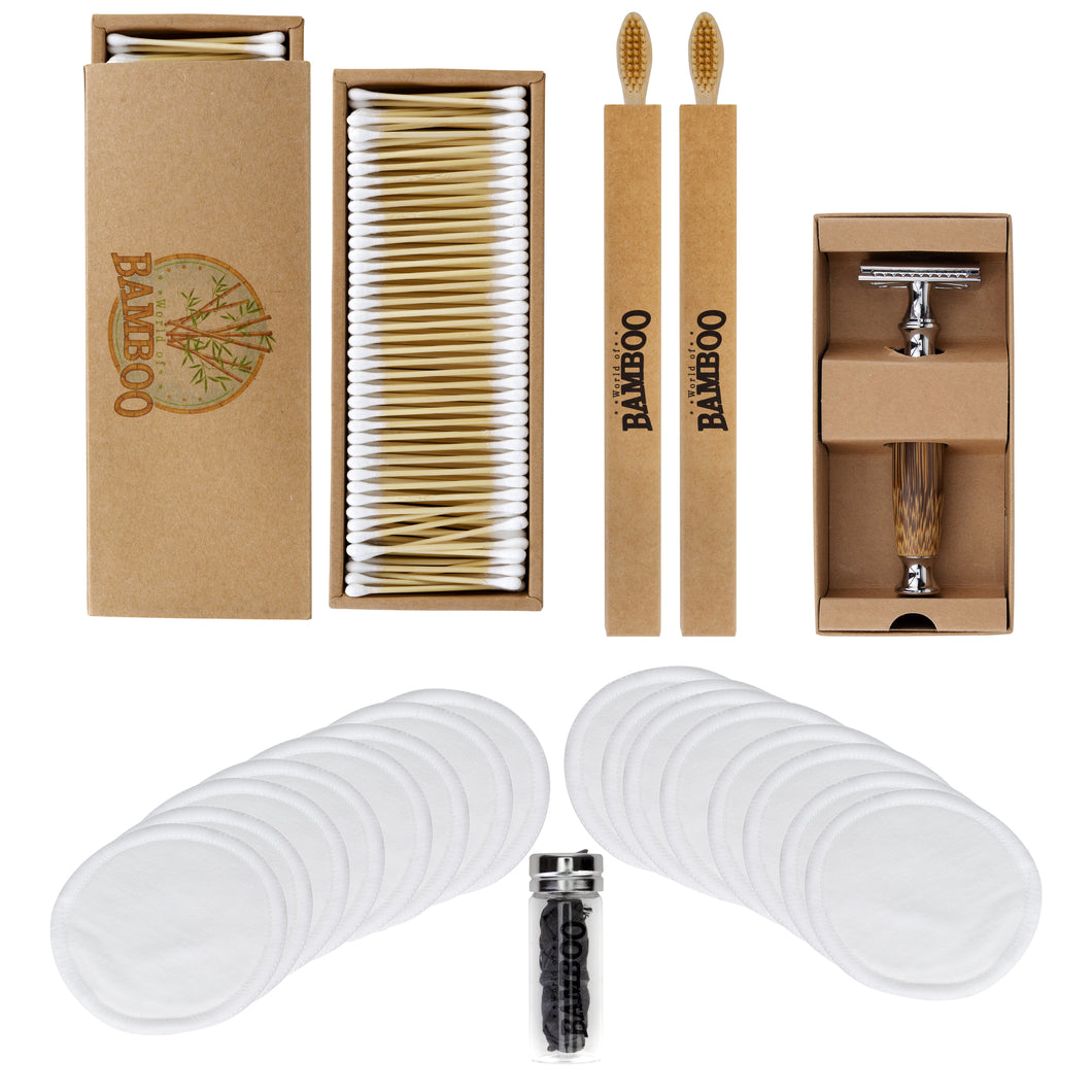 Deluxe World of Bamboo Bathroom Set