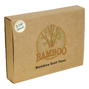 Eco Friendly Bamboo Golf Tees
