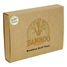 Load image into Gallery viewer, Eco Friendly Bamboo Golf Tees