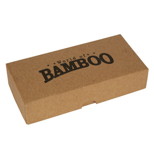 Environmentally sound, bamboo razor packaging