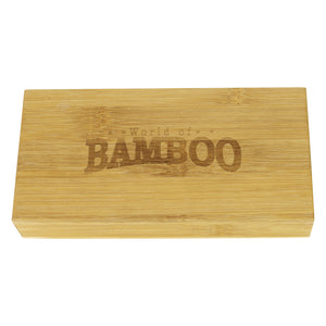 World of Bamboo spoon presentation box