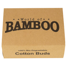 Load image into Gallery viewer, World of Bamboo cotton buds