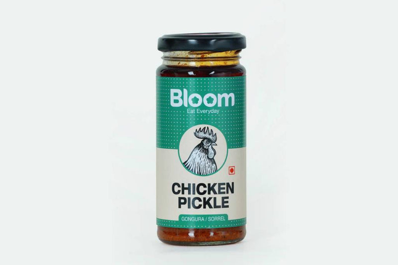 Boneless Gongura Chicken Pickle