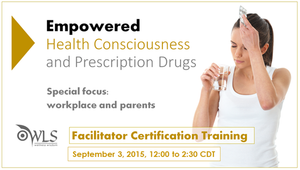Health Consciousness & Prescription Drugs: Workplace Prevention