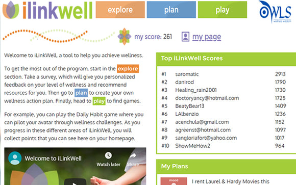iLinkWell(TM) <br> Content Management System
