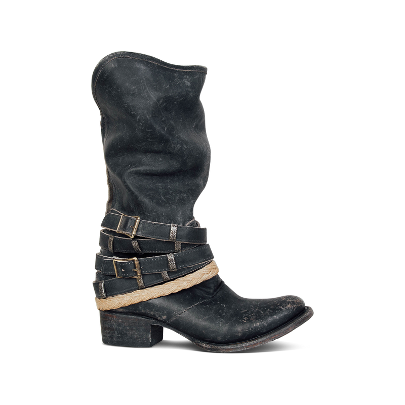 Fashion Low Heel Boots