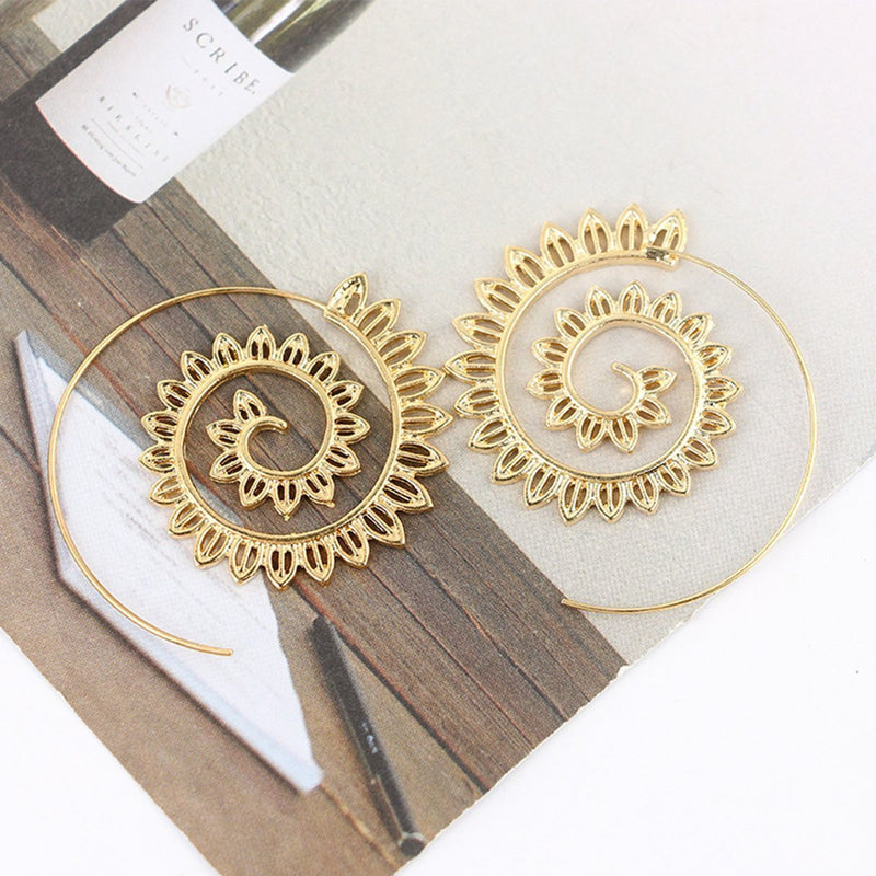 Elegant Solid Color Earrings