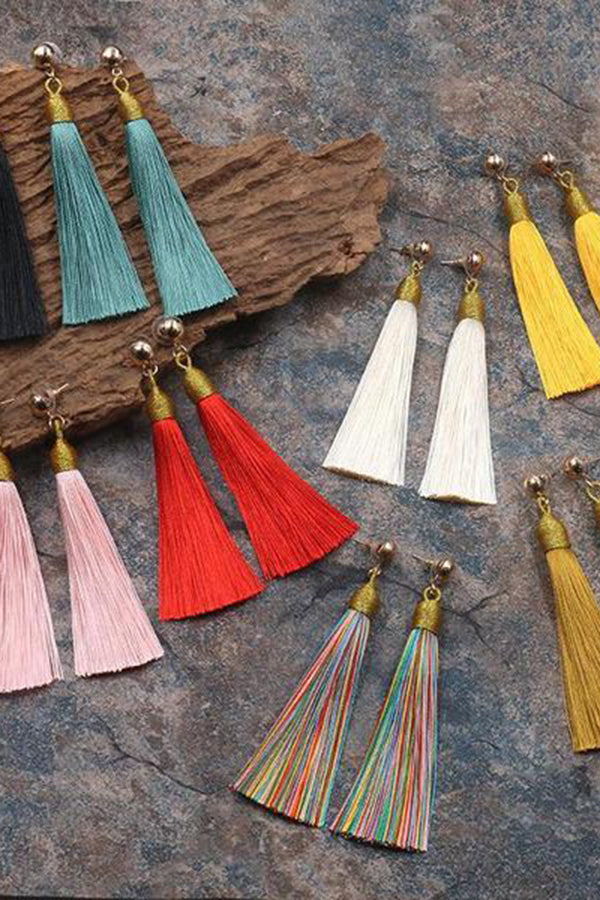 New Tassel Earrings Vintage Fashion Earrings Jewelry