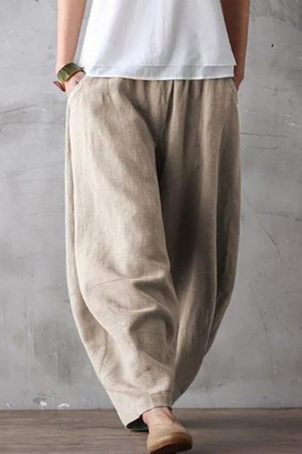 Leisure Breathable Large Code Loose Leisure Pants