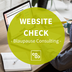 Website Check mit Blaupause Consulting