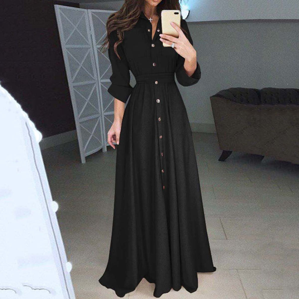 Elegant And Slim Maxi Dress