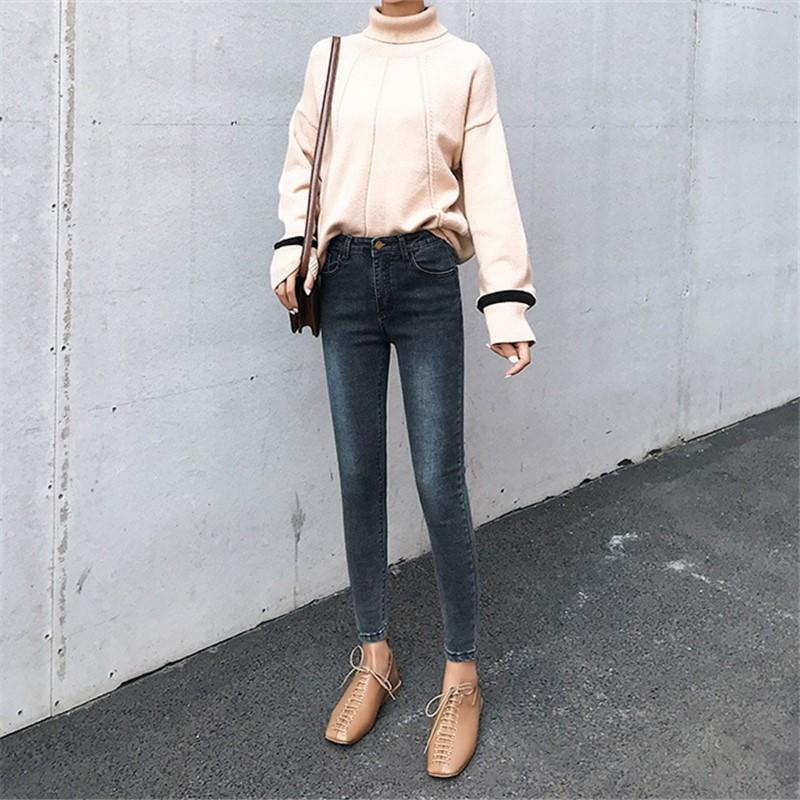 Fashion Slim Show Thin   Skinny Jeans Pencil Pants