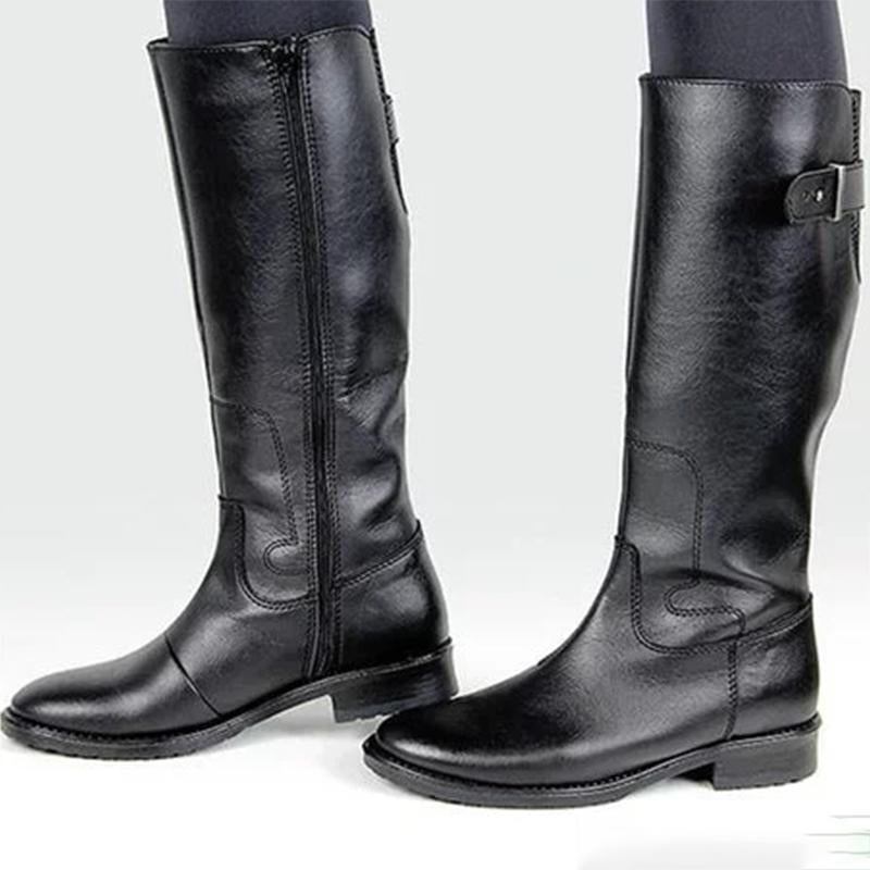 Women's Comfort Knight Boots High Boots Motorcycle Boots
