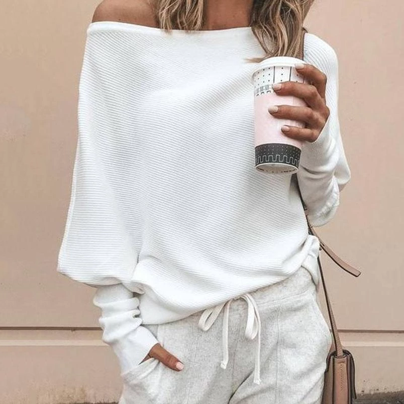 Solid Off-The-Shoulder Top