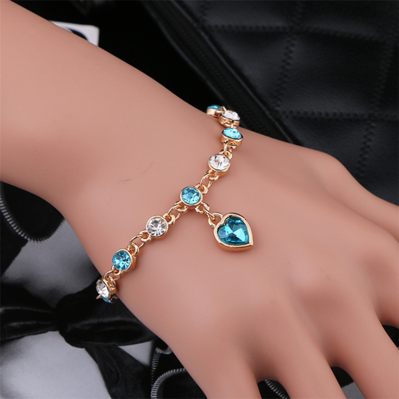 Women's Fashion Crystal Alloy Bracelet