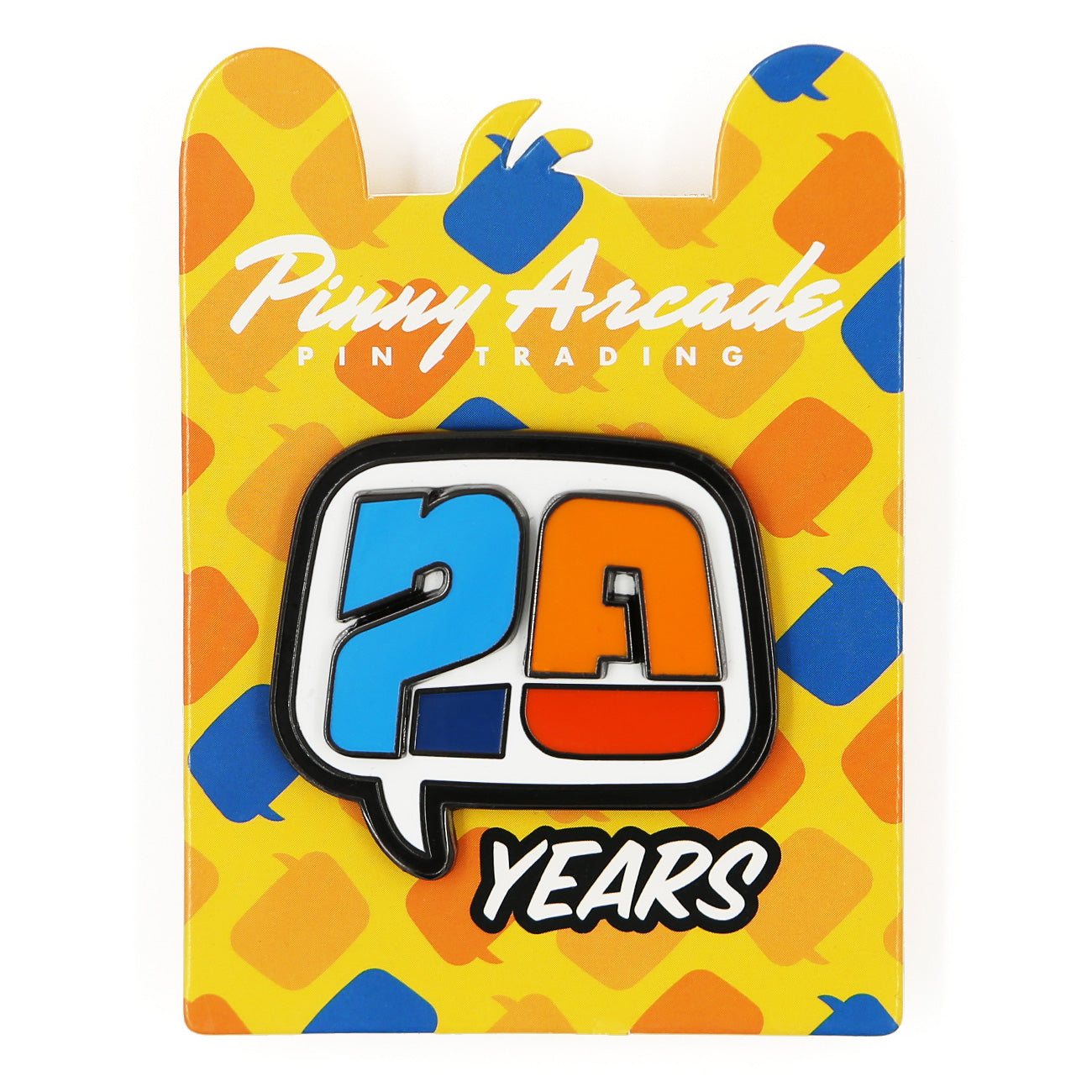 20th Anniversary Pin