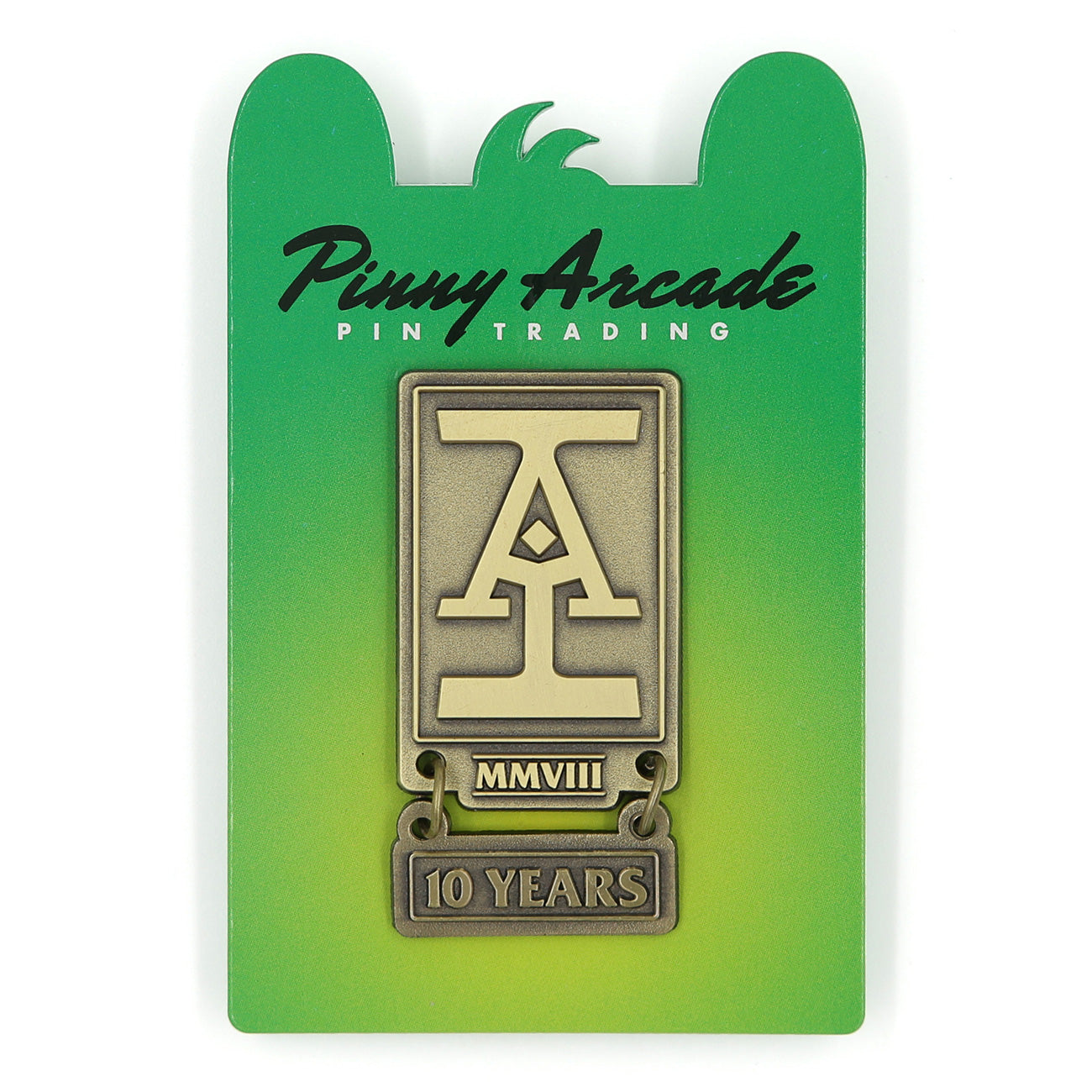Acq. Inc. 10 Year Anniversary Pin