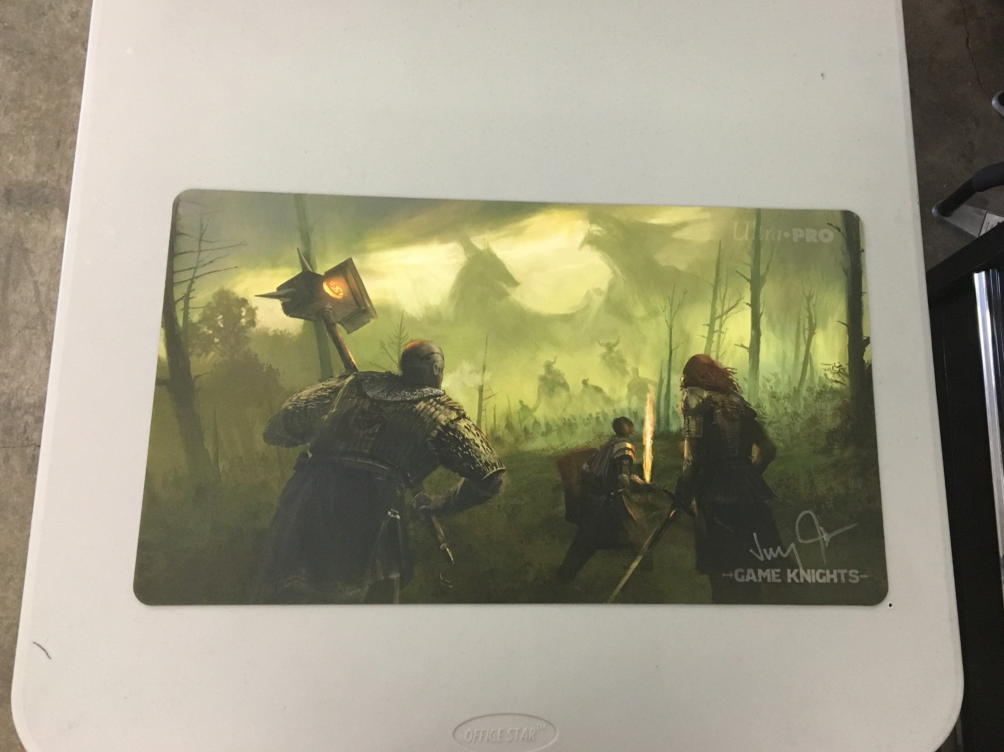 Game Knights - Last Stand Playmat