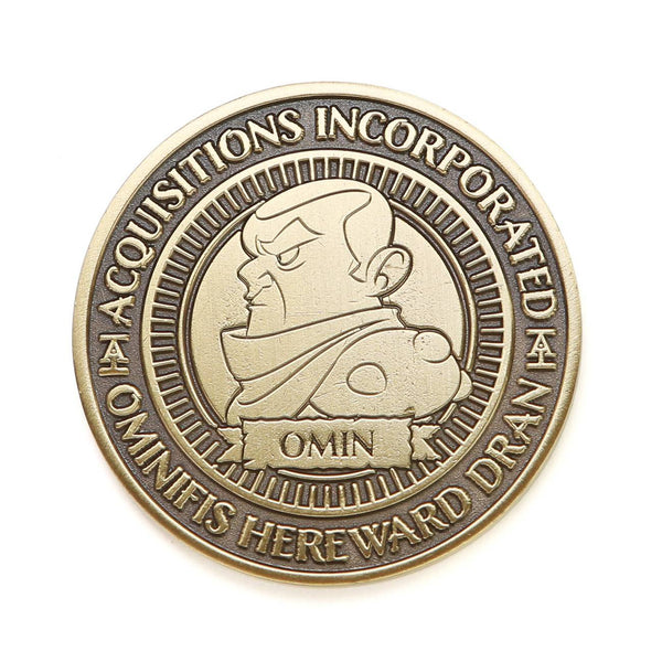 Acquisitions Incorporated Omin Dran Loot Coin