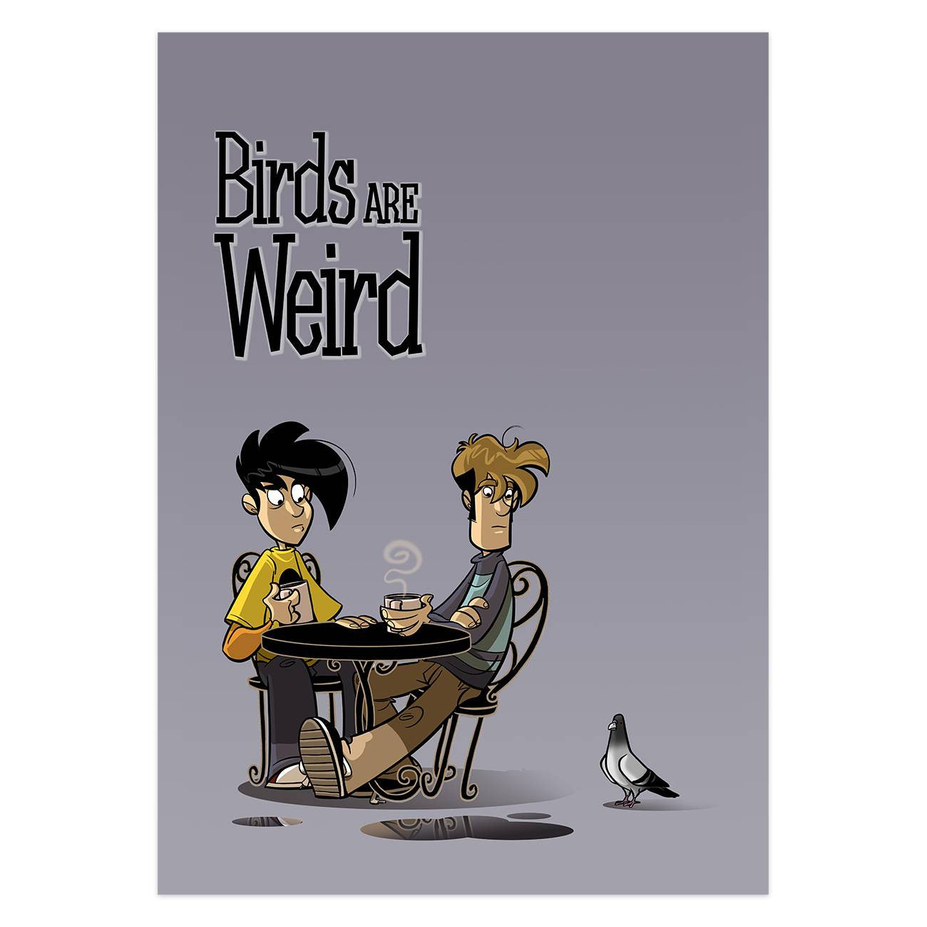 Penny Arcade Birds Are Weird (Poster)