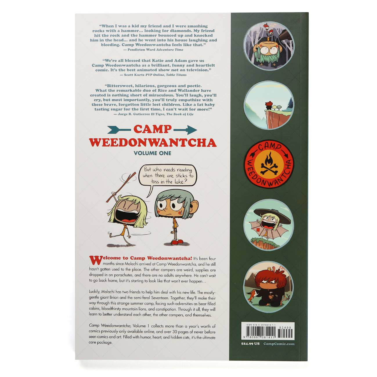 Camp Weedonwantcha Volume One Softcover