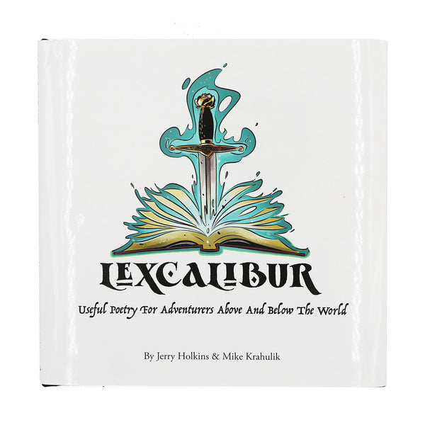 LEXCALIBUR by Jerry Holkins & Mike Krahulik (Book, Audiobook, + Digital Download)