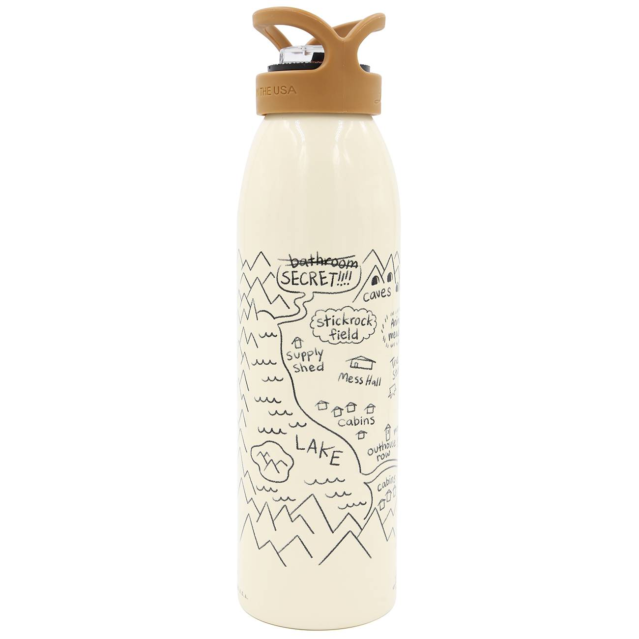 Camp Weedonwantcha Water Bottle