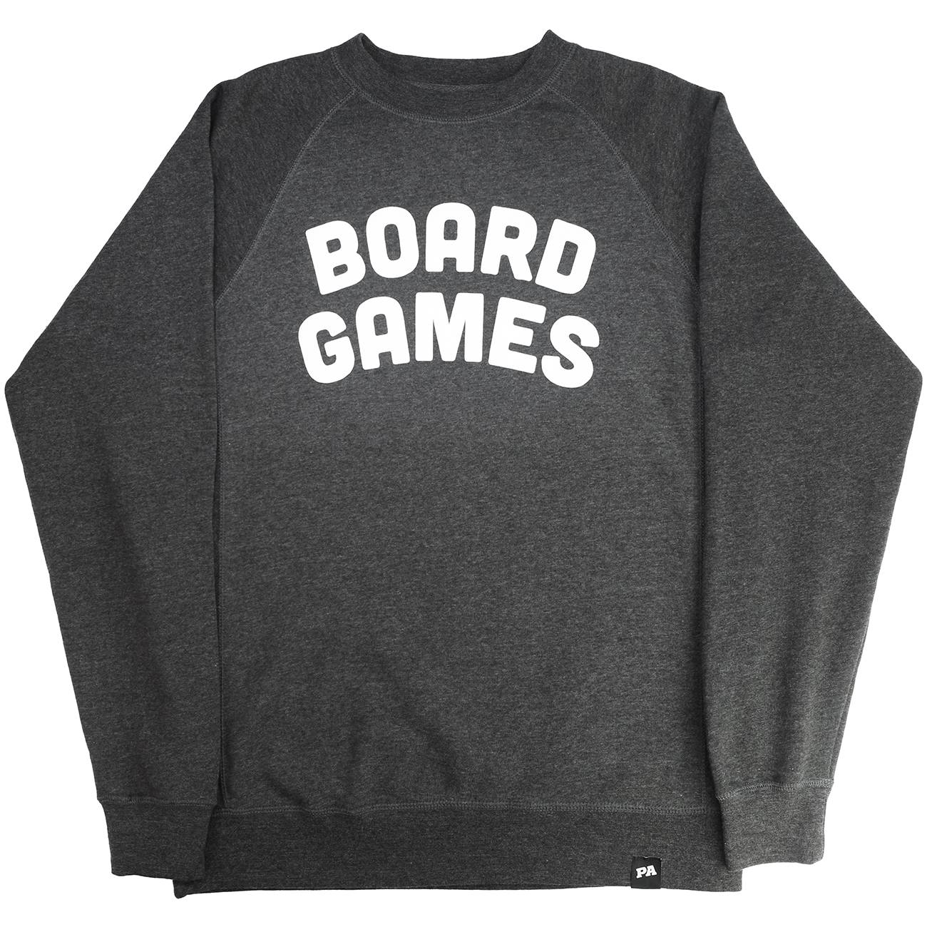 Board Games Crewneck - Charcoal
