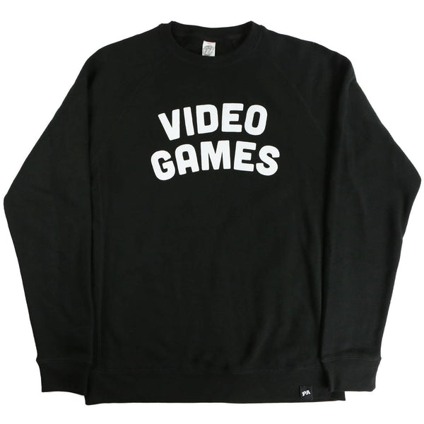 Video Games Crewneck - Black