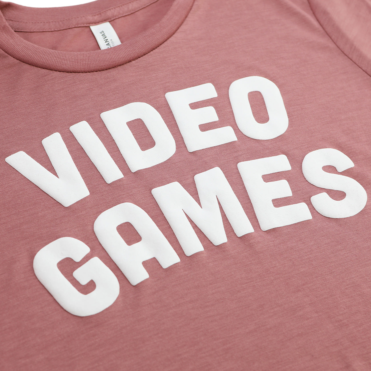 VIDEO GAMES Crop Top (Pink)