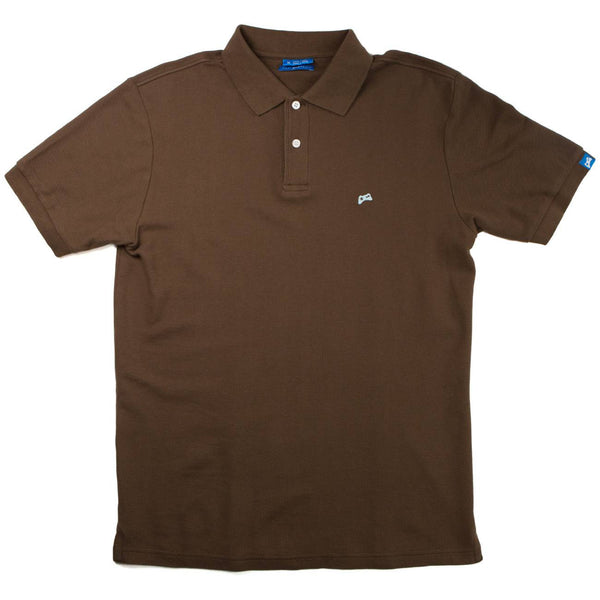 V2.0 Polo <br />(Chocolate Brown)