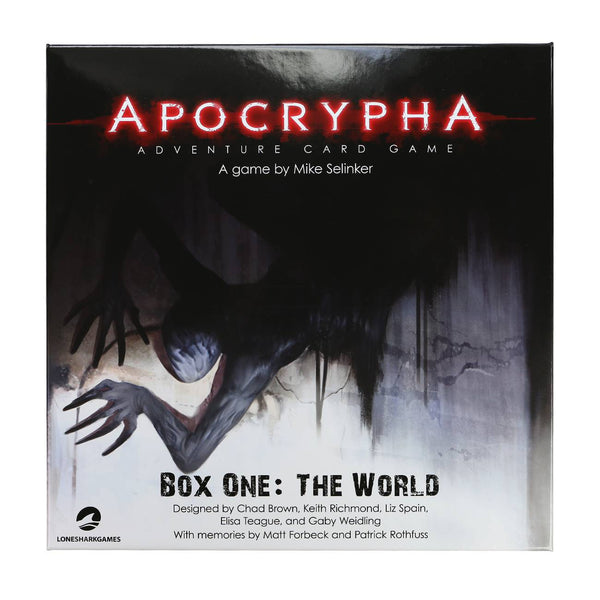 Apocrypha Adventure Card Game - Box One: The World