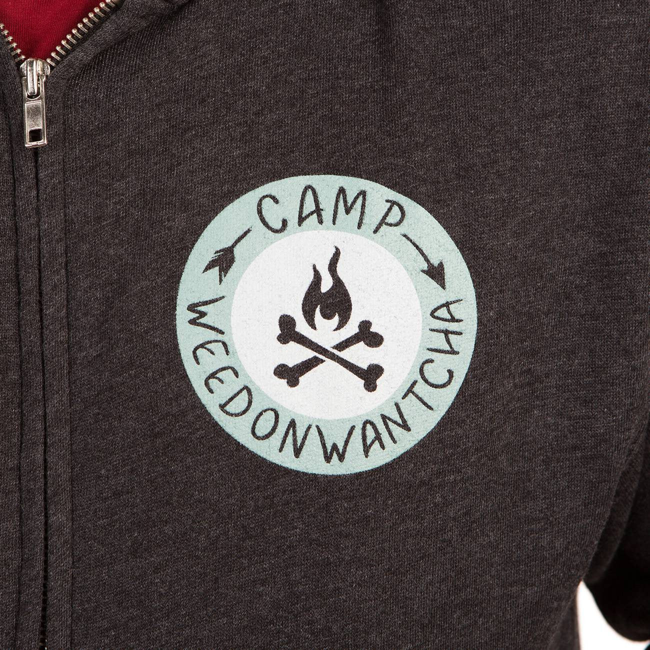 Camp Weedonwantcha (Zip Up)