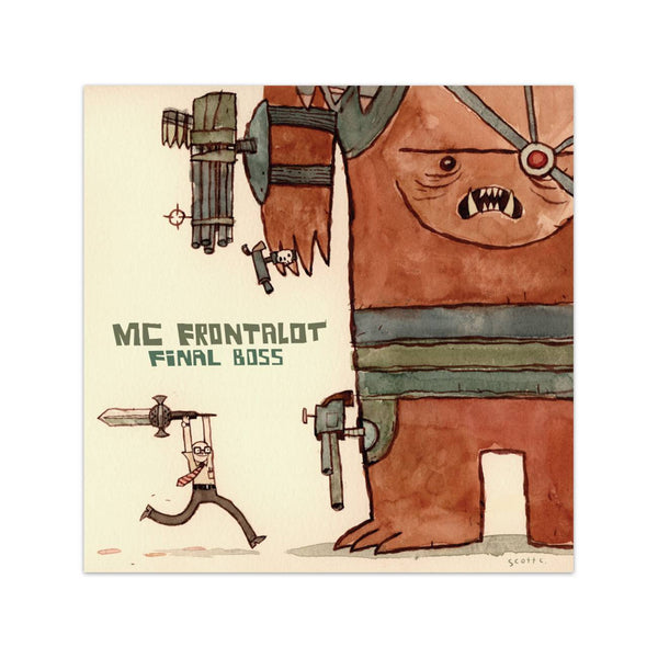 MC Frontalot: <br />Final Boss<br />(Digital Download)