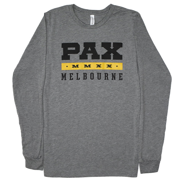 PAX Aus MMXX Fitted Long Sleeve Tee